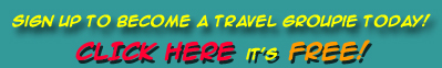 Sign up to become a travel groupie today!